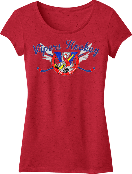 Vipers Textured Girly Crew Tee