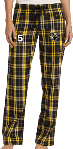 Palm Beach Panthers Soccer Flannel Plaid Pant