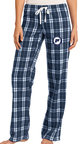 Franklin Flyers Ladies Flannel Plaid Pant