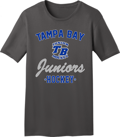 Tampa Bay Juniors Charcoal Gray T-shirt with Player Number