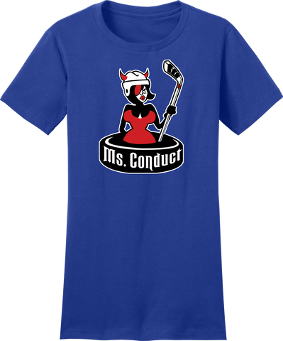 Ms. Conduct Ladies Logo Tee