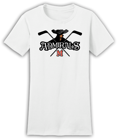 Admirals Hockey Logo Juniors Tee