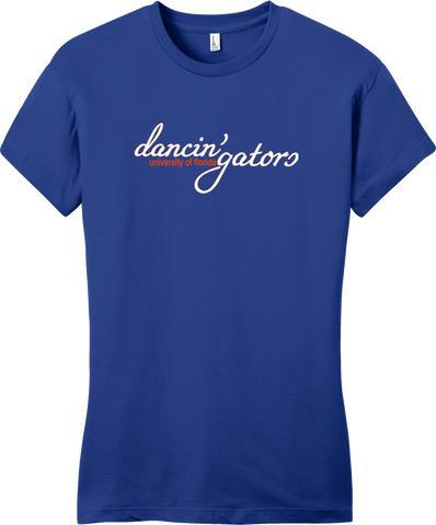 Dancin' Gators Juniors Ring Spun T-shirt