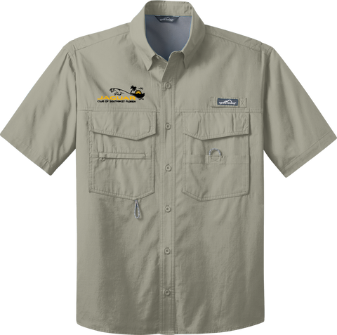 Jaguar Club of Southwest Florida Eddie Bauer® Fishing Shirt