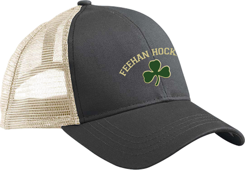 Bishop Feehan Hockey Eco Vintage Trucker Hat