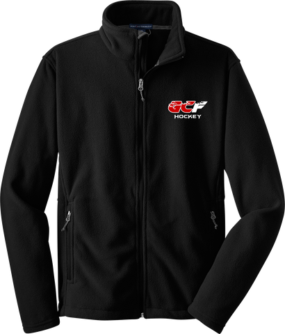 Gulf Coast Flames Mens Fleece Jacket