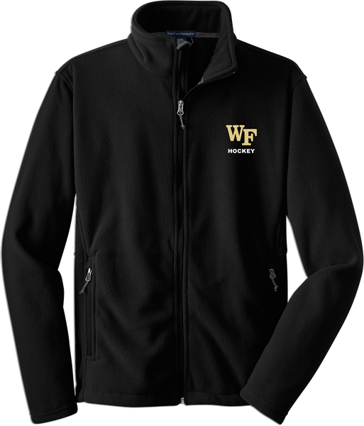 Wake Forest Mens Fleece Jacket