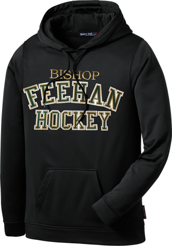 Bishop Feehan Twill Sport-Wick Fleece Hoodie w/ Player Number