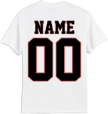 Vipers Faded Logo T-shirt with Player Number