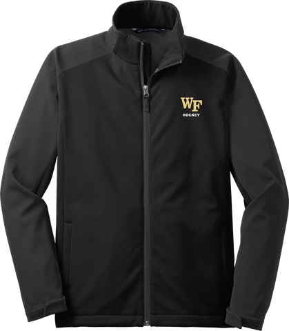Wake Forest Mens Gradient Soft Shell Jacket
