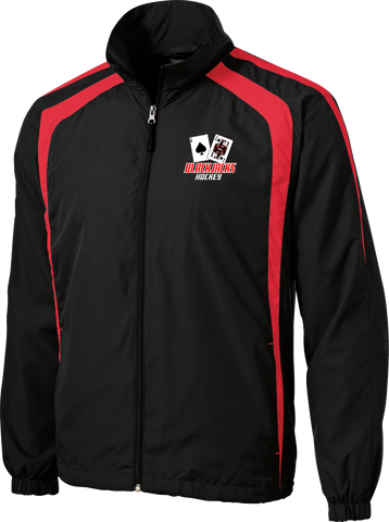 Blackjacks Hockey Warm Up Jacket