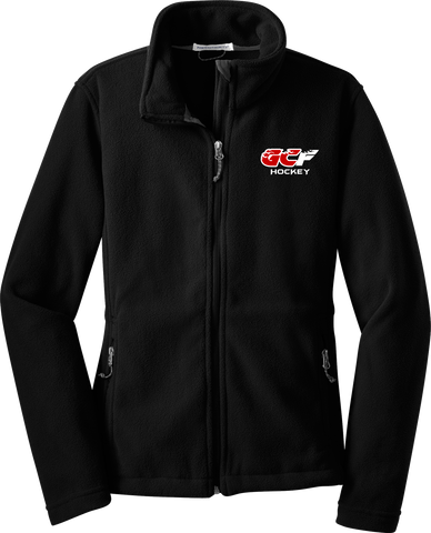 Gulf Coast Flames Ladies Fleece Jacket