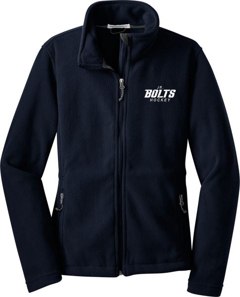 Jr. Bolts Ladies Fleece Jacket