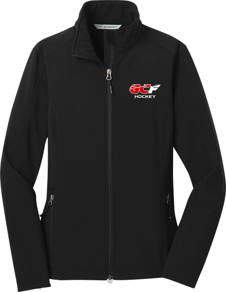 Gulf Coast Flames Ladies Core Soft Shell Jacket