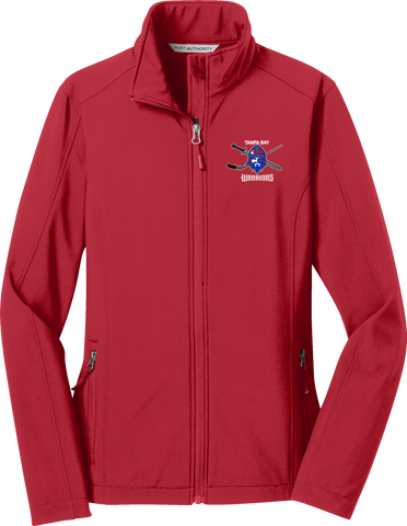 Jr. Warriors Hockey Ladies Core Soft Shell Jacket
