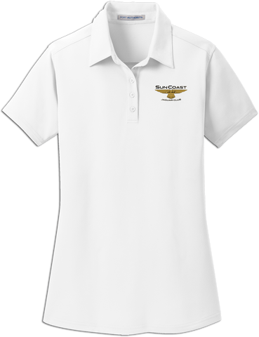 Sun Coast Jaguar Club Ladies Micropique Dimension Polo