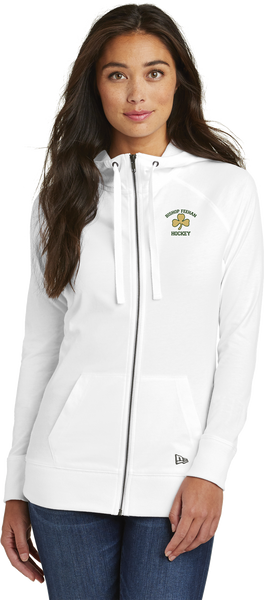 Bishop Feehan NewEra Ladies Sueded Cotton Full-Zip Hoodie
