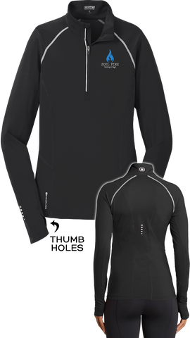 SOUL FIRE Rowing → Yoga Endurance Ladies Nexus 1/4-Zip Pullover
