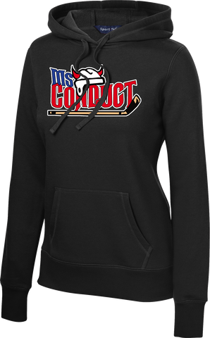 Ms. Conduct Ladies Pullover Sport Hoodie