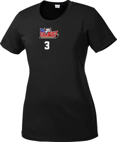Ms. Conduct Hockey Ladies Dri-Fit Tee