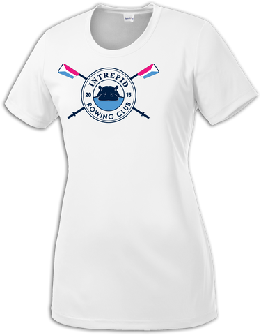 Intrepid Rowing Logo Ladies Dri-Fit Tee