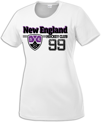 New England Hockey Club Old Time Dri-Fit Tee