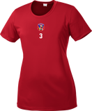 Vipers Ladies Competitor Tee with Player Number