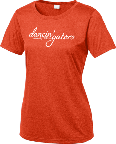 Dancin' Gators Ladies Heathered Competitor Tee