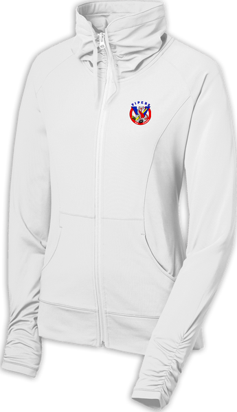 Vipers Ladies Sport-Wick Stretch Full-Zip Jacket