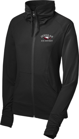 Douglas Hockey Ladies Sport-Wick Stretch Full-Zip Jacket