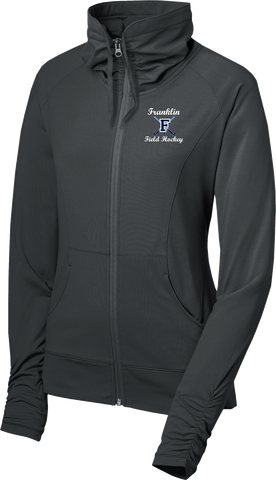 Franklin Field Hockey Ladies Sport-Wick Stretch Full-Zip Jacket