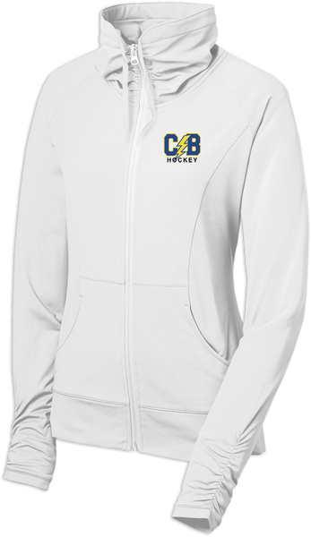 Cypress Bay Ladies Sport-Wick Stretch Full-Zip Jacket