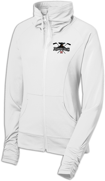 Admirals Hockey Ladies Sport-Wick Stretch Full-Zip Jacket
