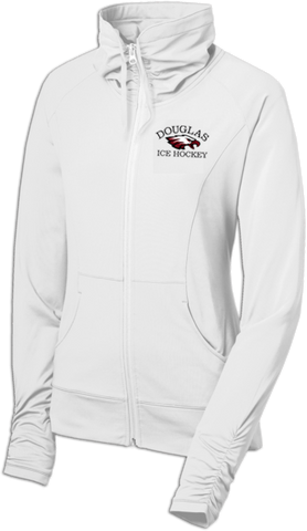 Eagles Hockey Ladies Sport-Wick Stretch Full-Zip Jacket