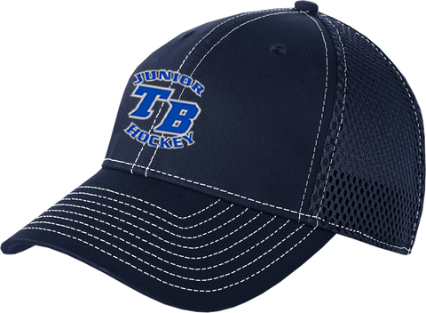Tampa Bay Juniors Hockey Mesh Contrast Stitch Cap