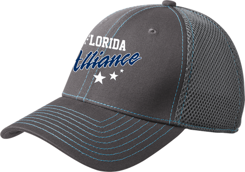 Florida Alliance Hockey Mesh Contrast Stitch Cap