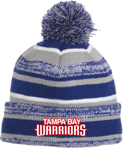 Jr. Warriors Hockey Sideline NewEra Beanie