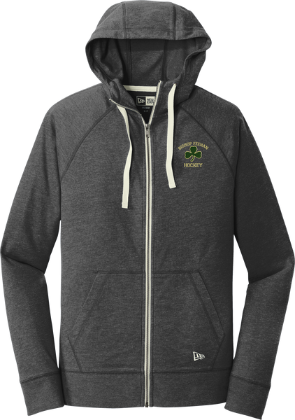 Bishop Feehan NewEra Sueded Cotton Full-Zip Hoodie