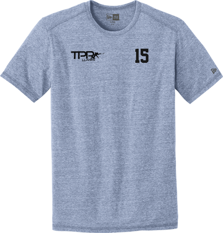 Train. Perform. Repeat. NewEra Tri-Blend Performance Crew Tee