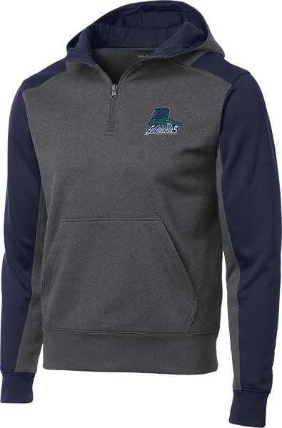 Jr. Everblades Colorblock 1/4-Zip Hooded Sweatshirt