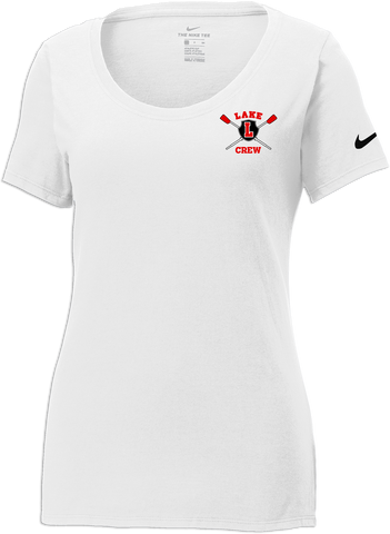 Lake Crew Ladies Nike Core Cotton Tee