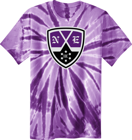 New England Hockey Club Printed Logo Tye Dye Tee