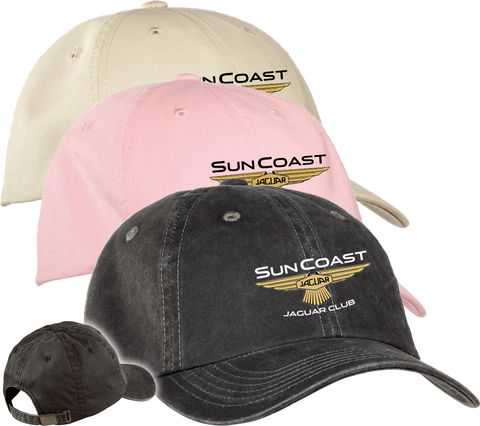 Sun Coast Jaguar Club Garment Washed Cap