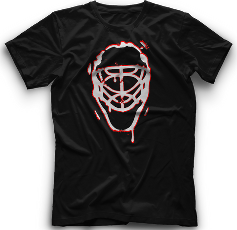 Ice Melting Mask T-Shirt  -  BLACK