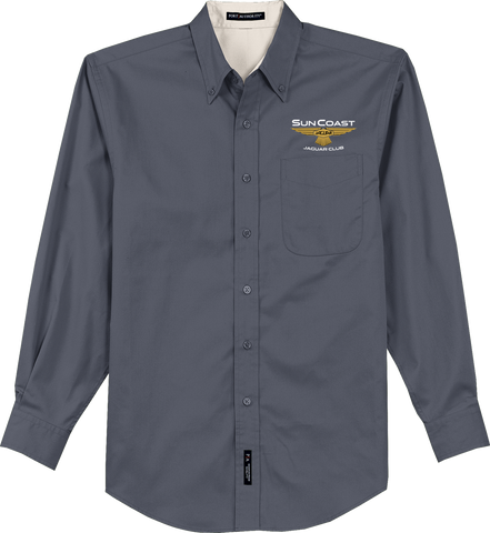 Sun Coast Jaguar Club Easy Care Long Sleeve Shirt