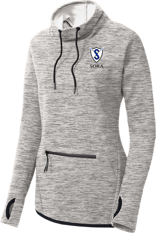 South Orlando Rowing Association Ladies Triumph Cowl Neck Pullover