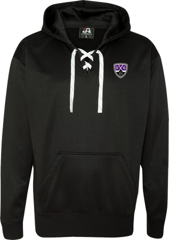 New England Hockey Club Polyester Lace Hoodie
