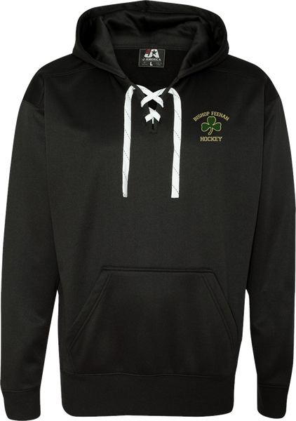 Bishop Feehan Hockey Polyester Lace Up Hoodie