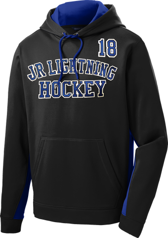 Jr. Lightning Sport-Wick Fleece Colorblock Hoodie (includes player #)