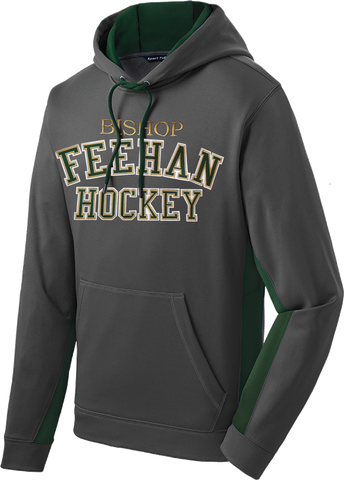 Bishop Feehan Sport-Wick Fleece Colorblock Hoodie